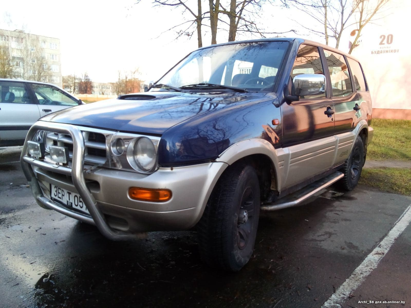 Nissan Terrano R-20 restyling