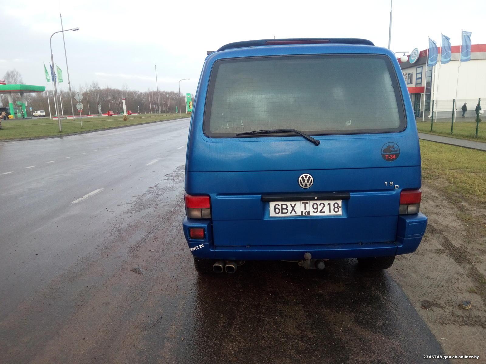Volkswagen T4 Caravelle бензин