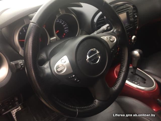 Nissan Juke YF15 1.6 CVT 4WD LE 190л.с.