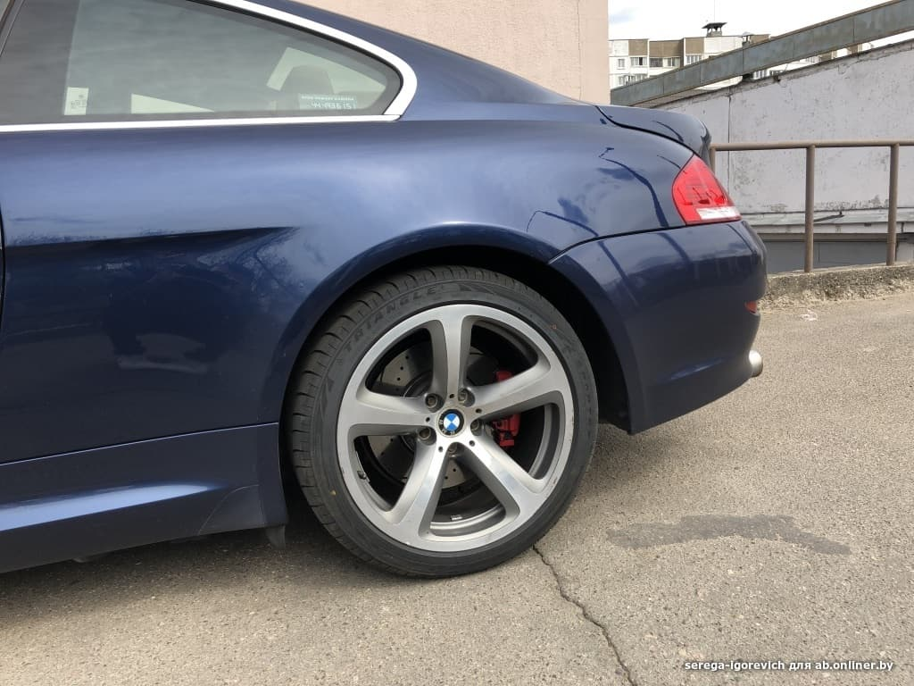BMW 635 D Restyling
