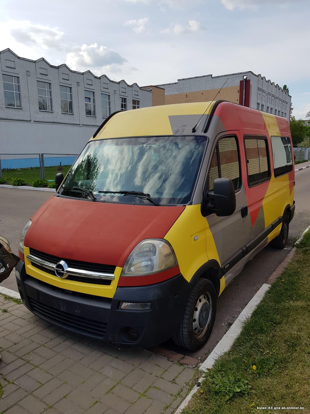 Opel Movano 2
