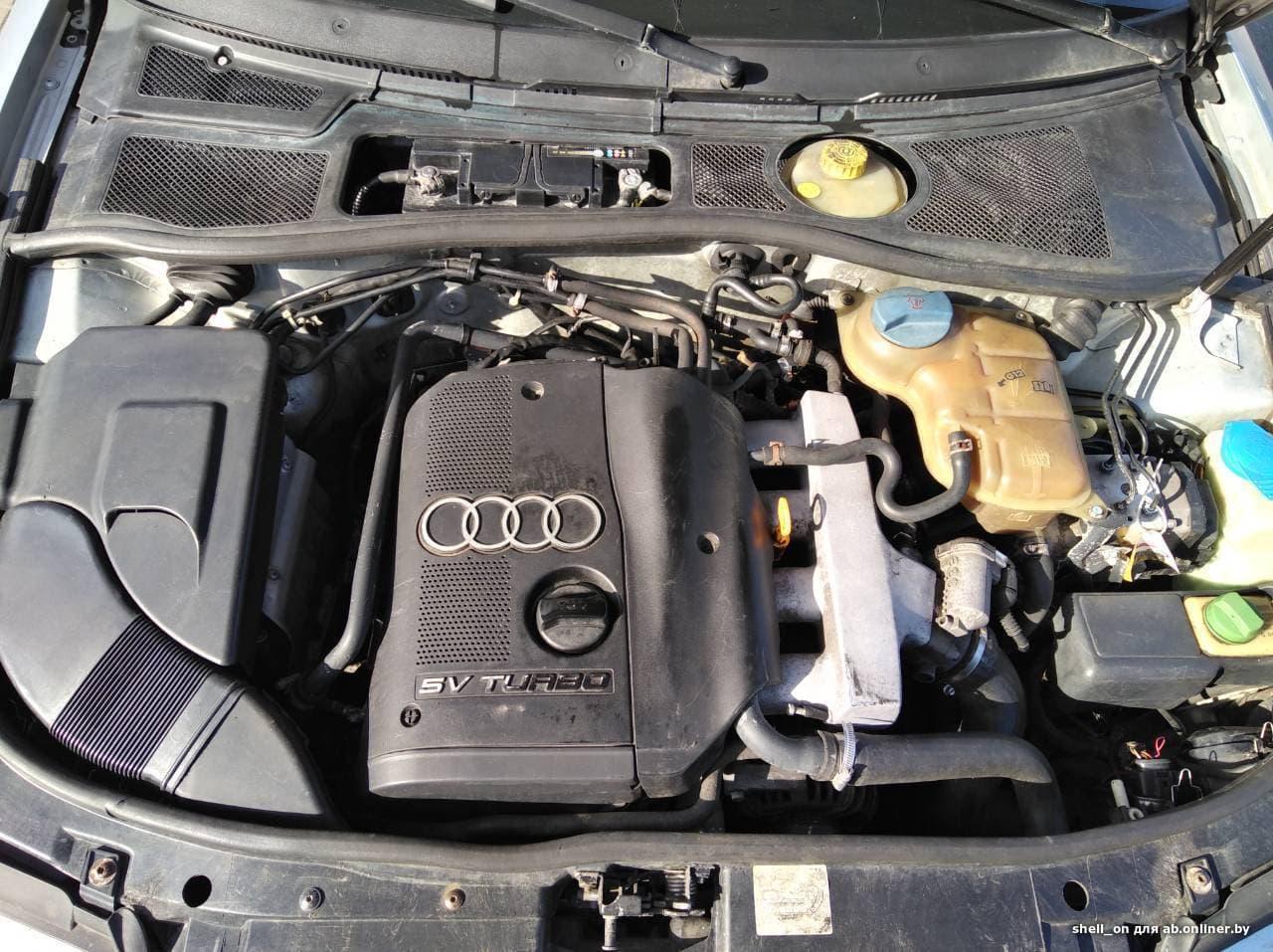 Audi A4 B5 Turbo Quattro МКПП