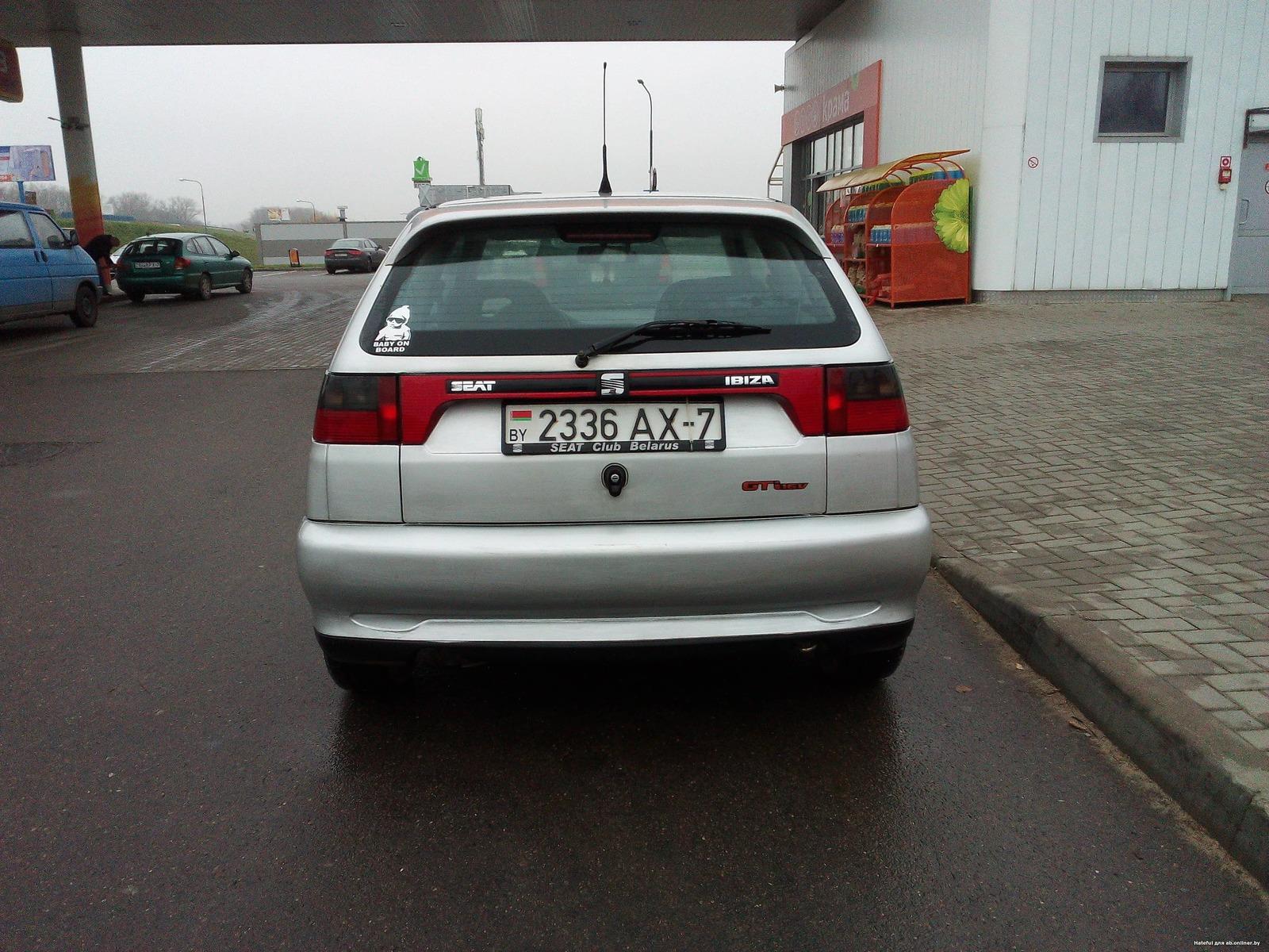 Seat Ibiza GTI 16V 129л.с.