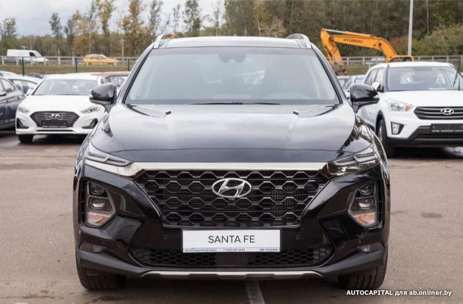 Hyundai Santa Fe Premier+Smart Sense