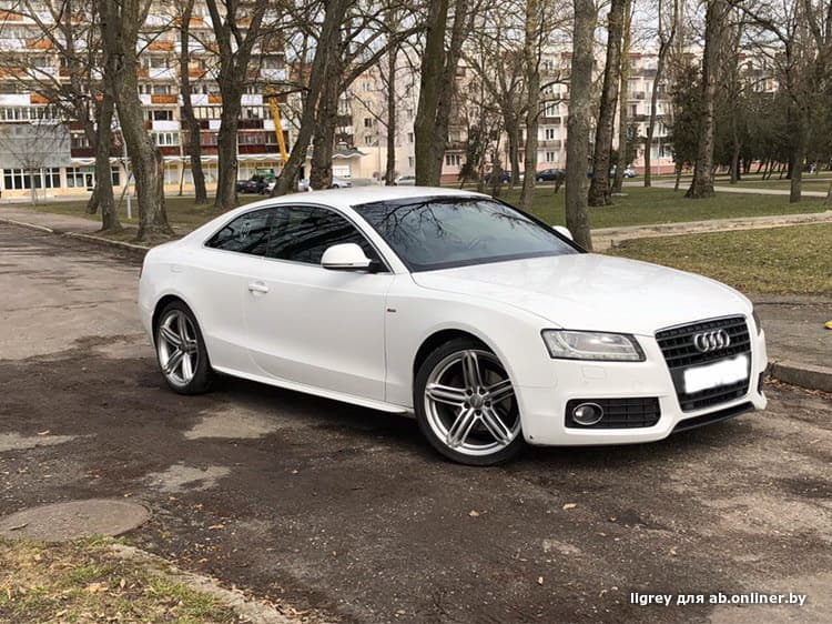 Audi A5 8T S-line