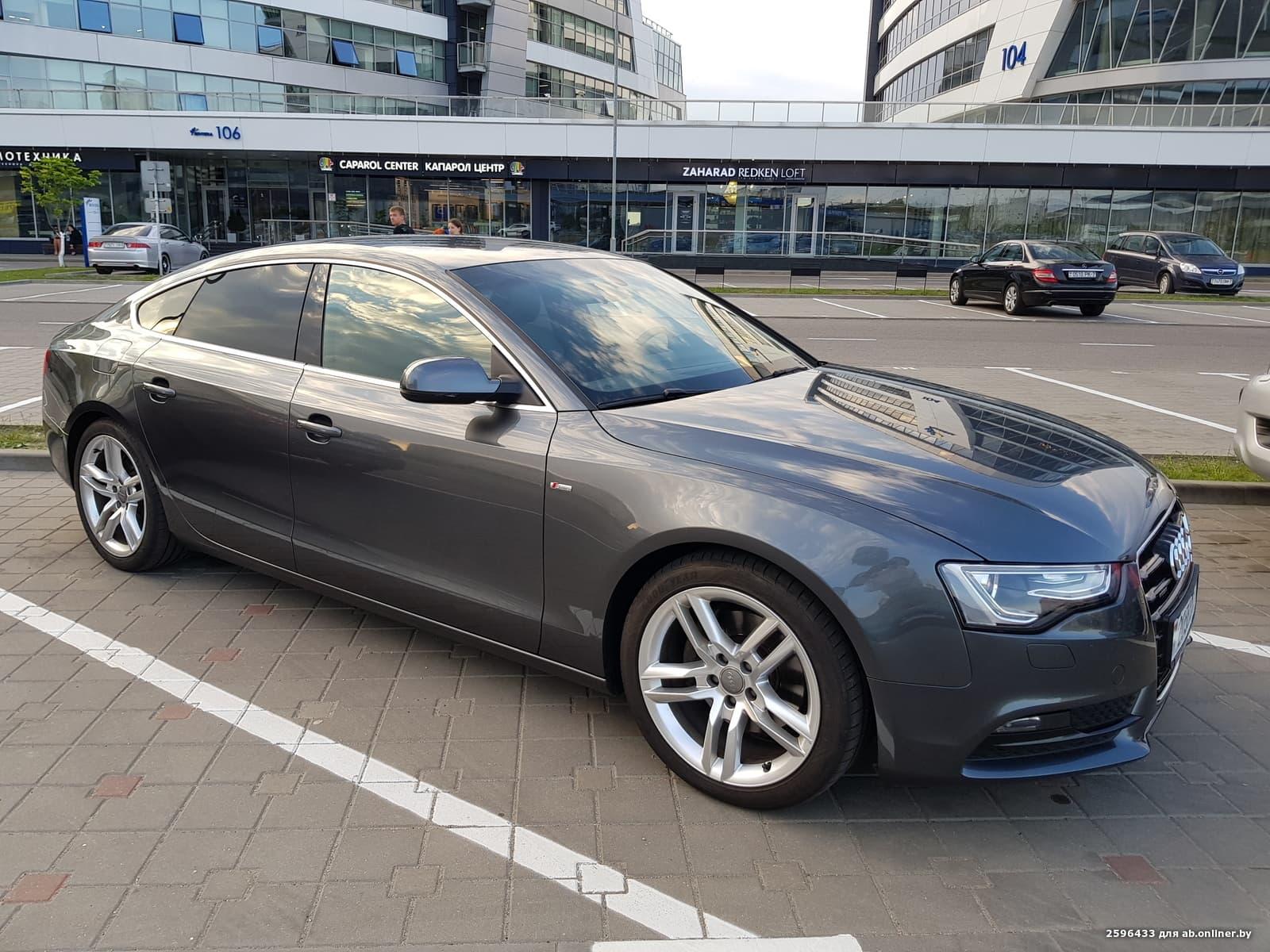 Audi A5 Sportback S-line quattro