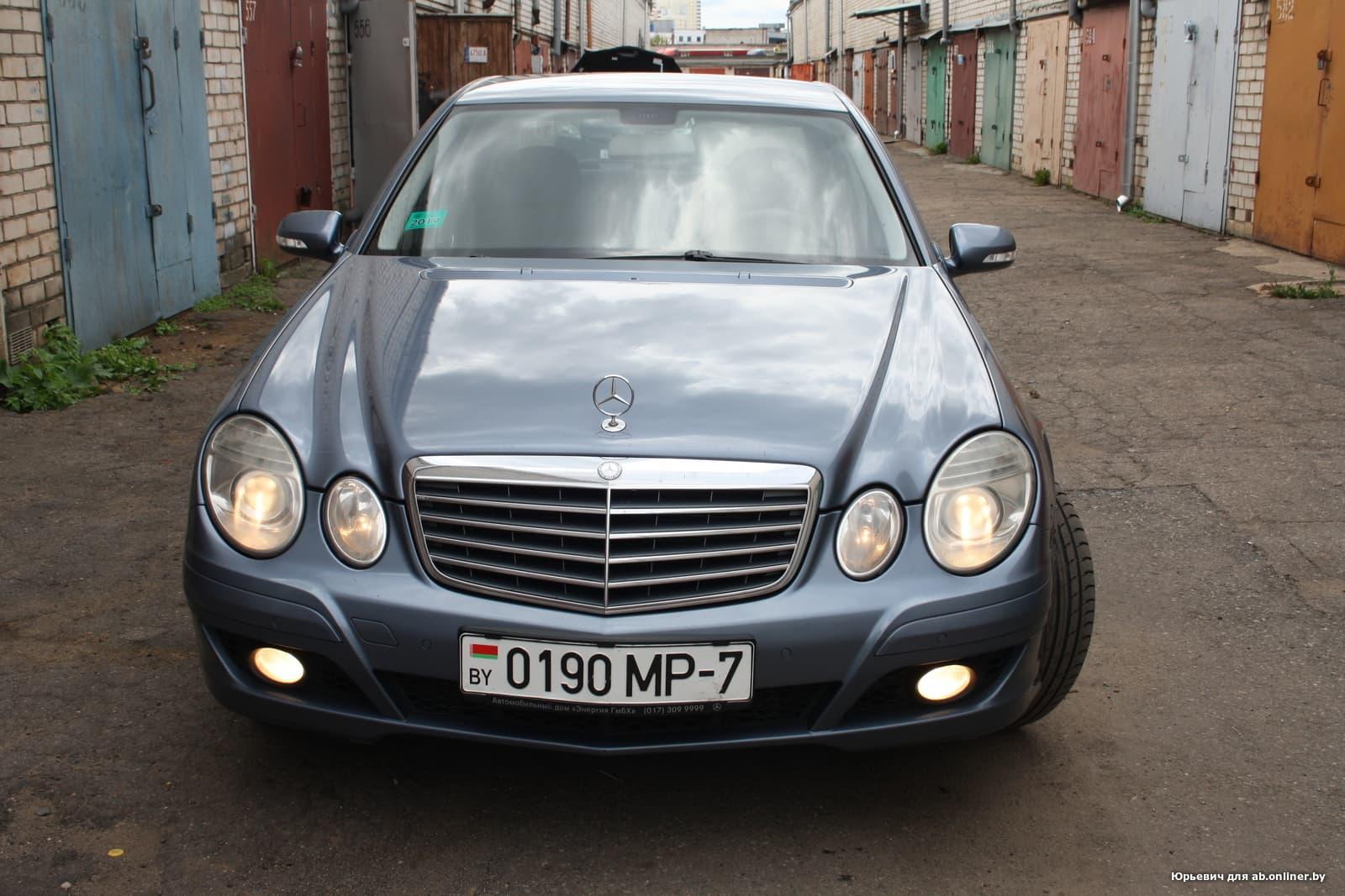 Mercedes-Benz E270 мкпп