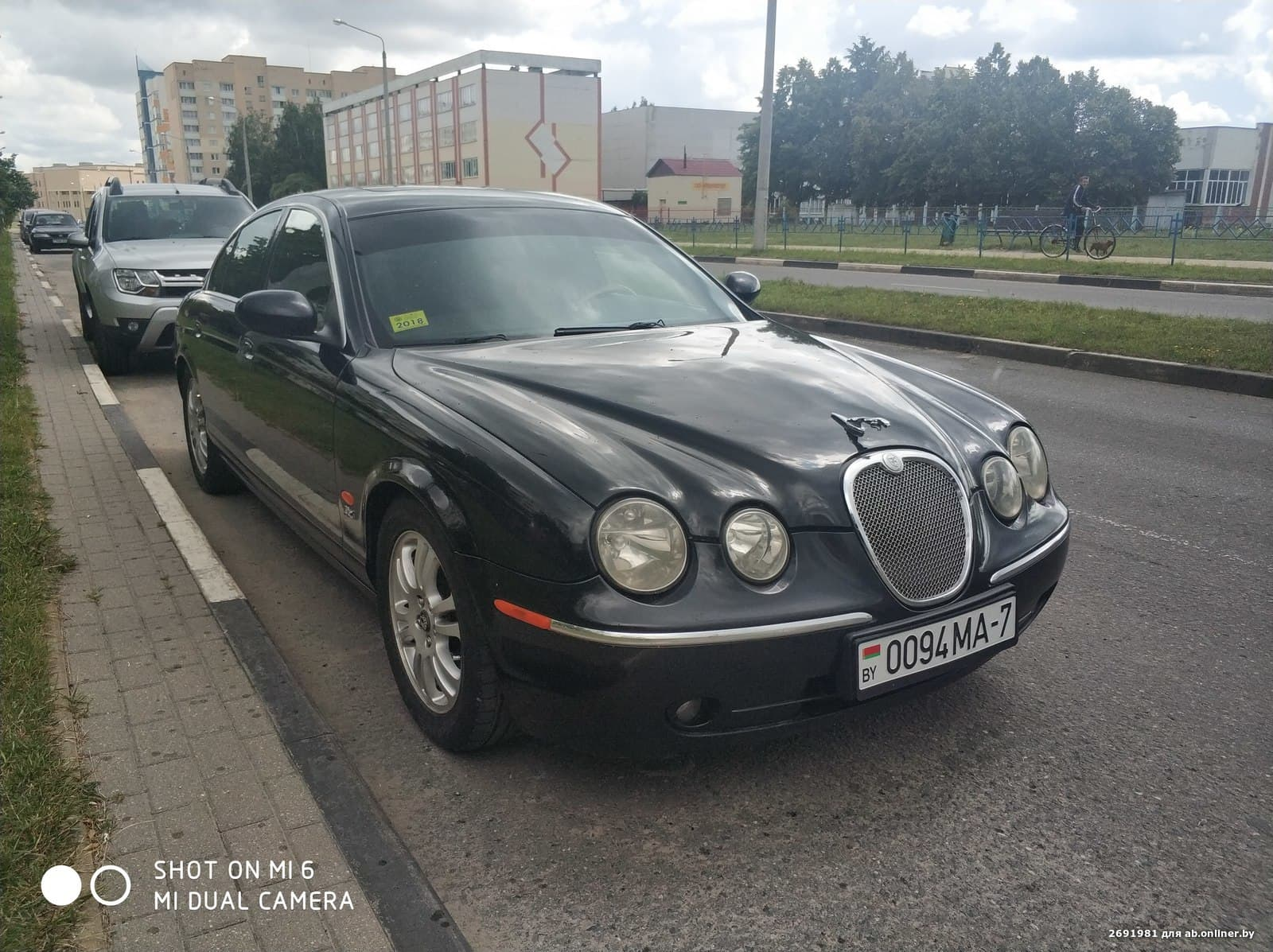 Jaguar S-Type Рестайлинг BLACK SPA