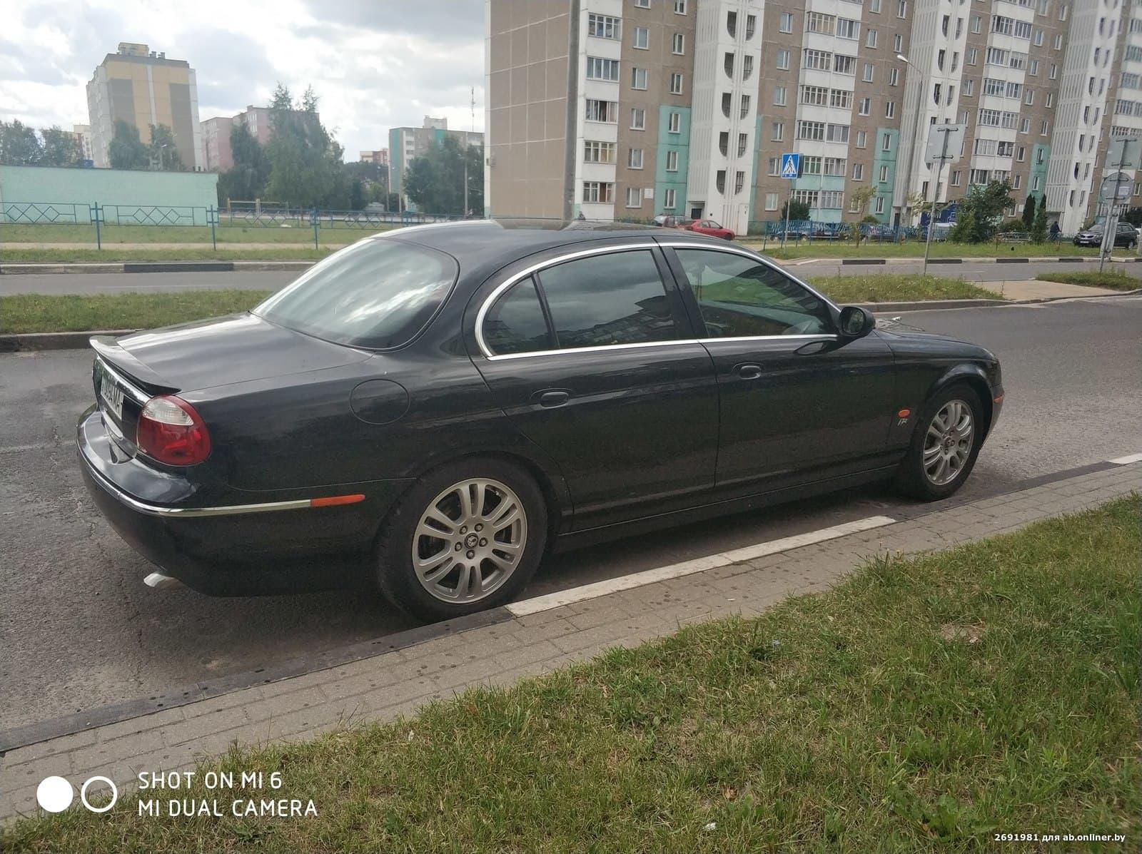 Jaguar S-Type Рестайлинг BLACK SPA