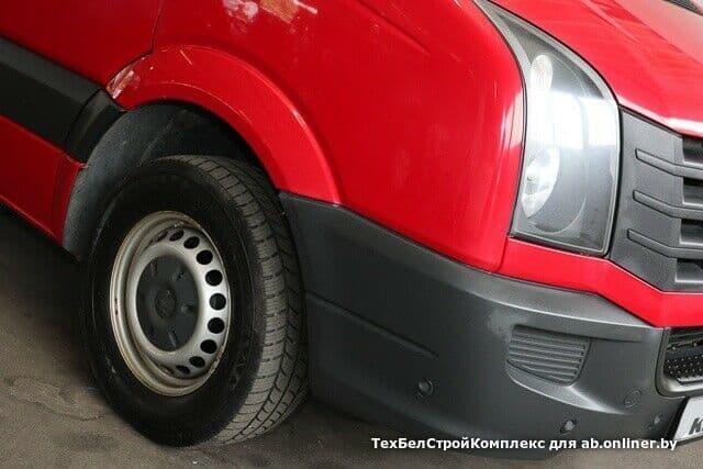 Volkswagen Crafter 136 лош 8+1