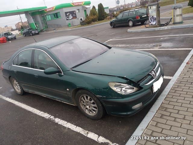 Peugeot 607 6 мкпп