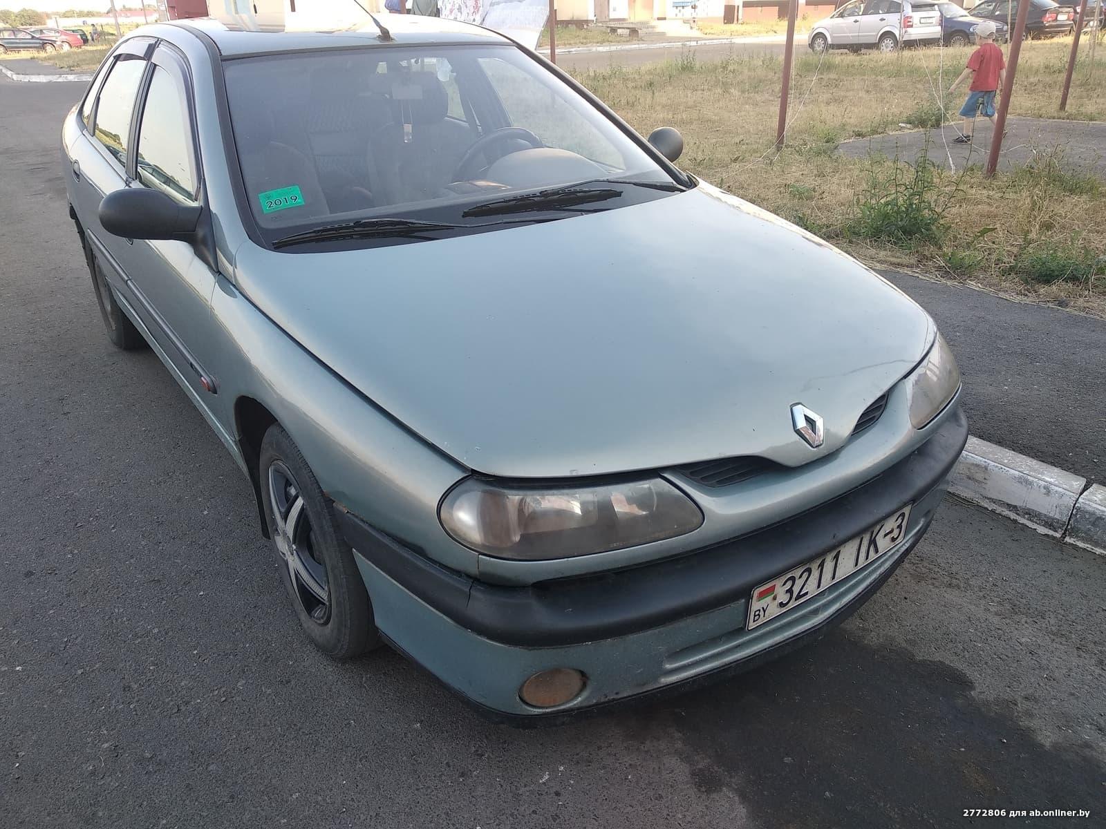 Renault Laguna Рестайлинг