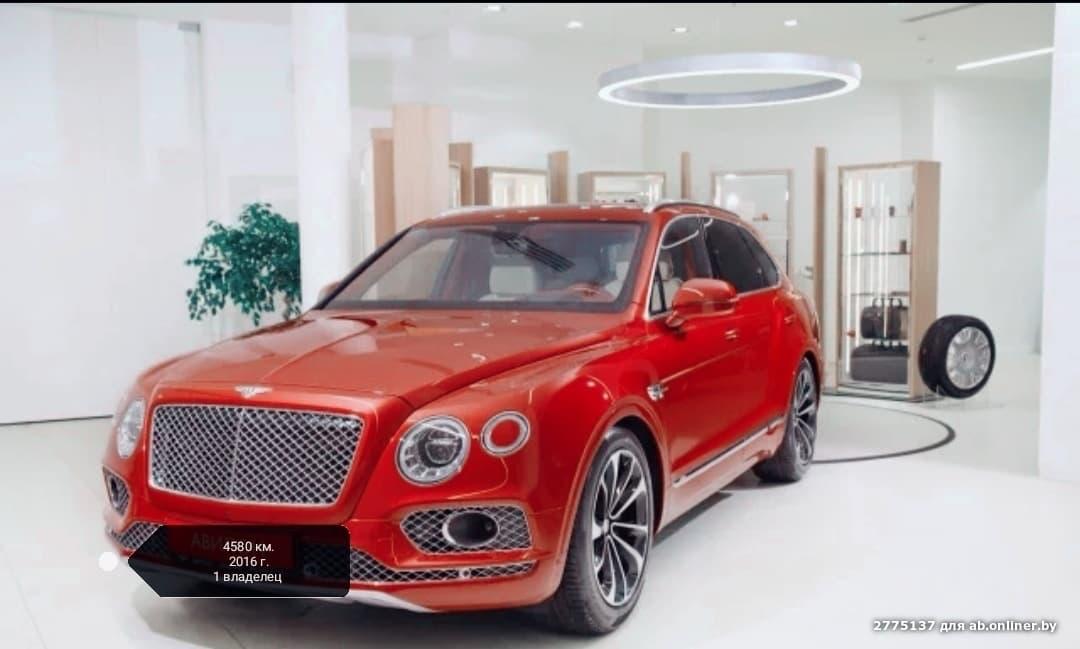 Bentley Bentayga 6.0 AT (608 л.с)