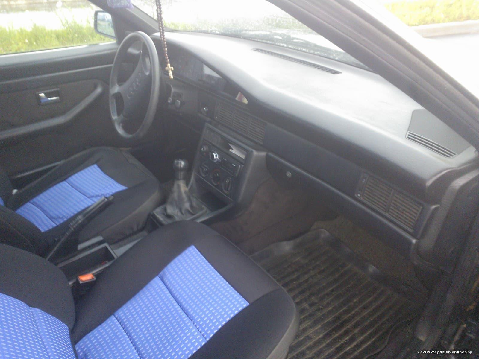 Audi 100 C3, рестайлинг