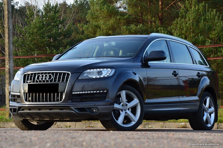 Audi Q7 4L(рест)3.0D Quattro Eur.