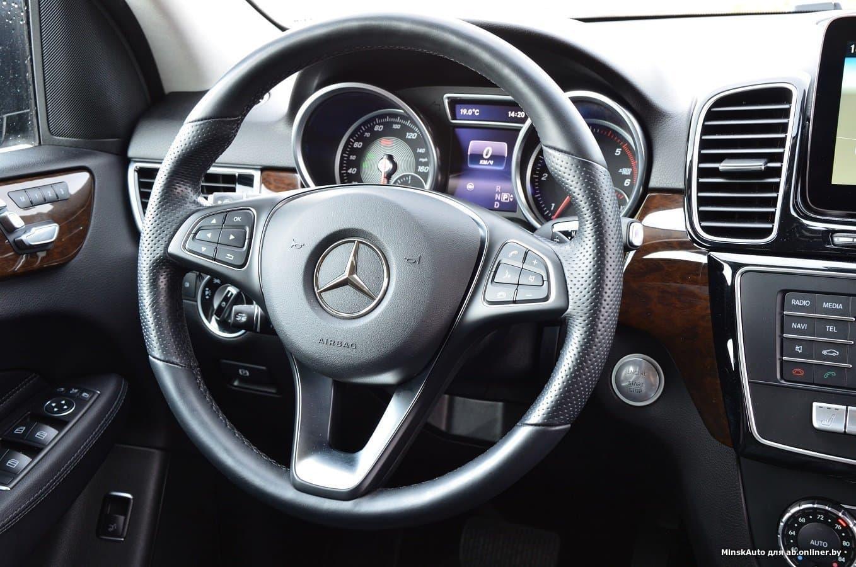 Mercedes-Benz GLE300 d, W166 4 MATIC
