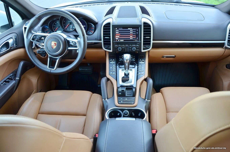 Porsche Cayenne 958 (рест) 3.6i Europa