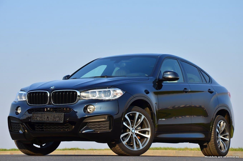 BMW X6 F16 3.5i xDrive M-paket