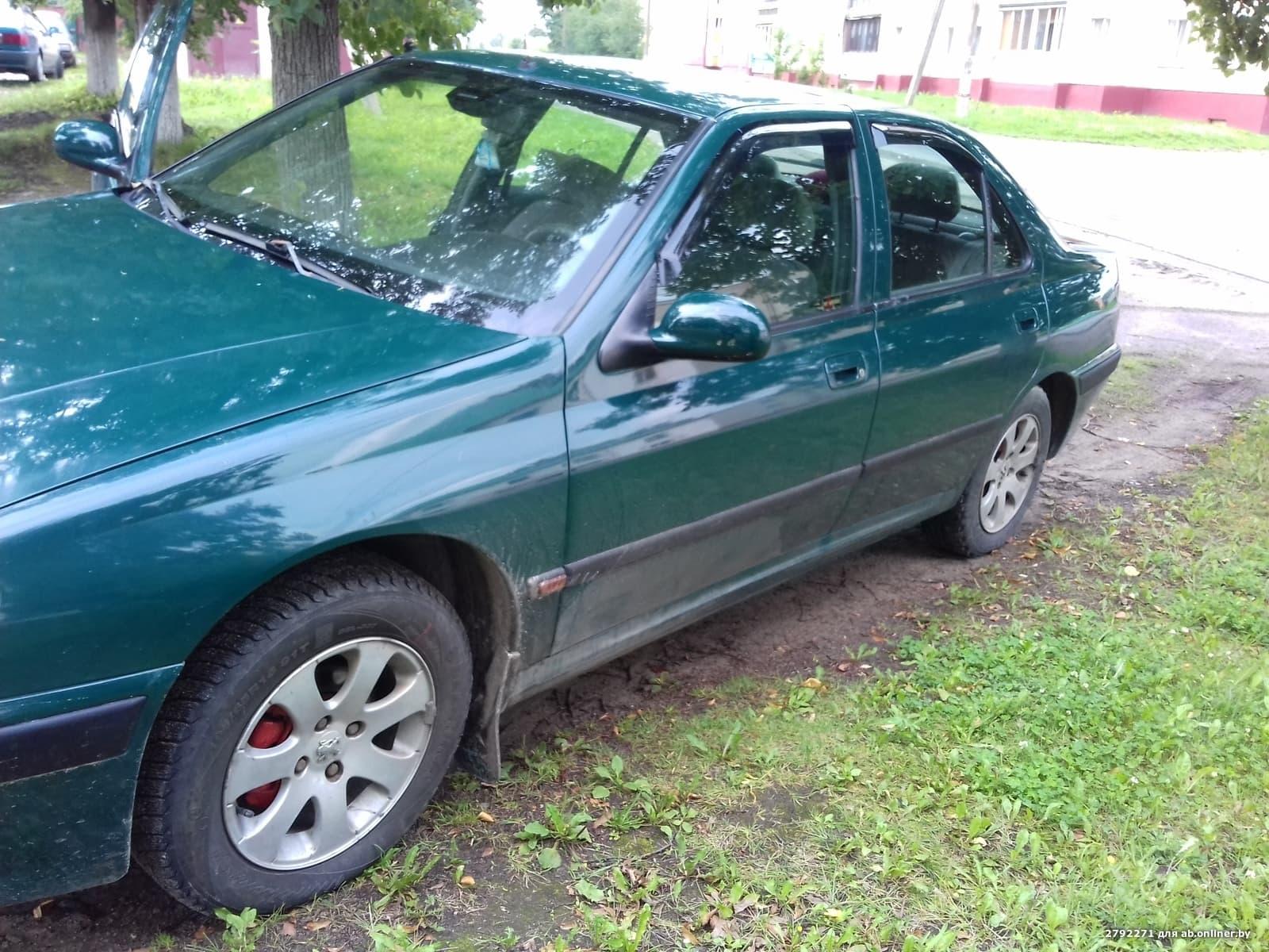 Peugeot 406 До рестайленг