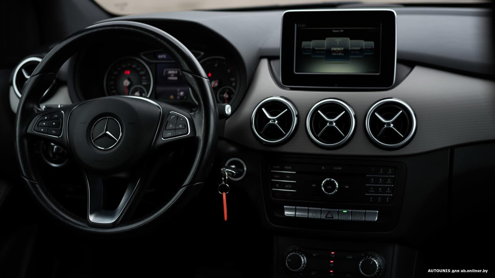 Mercedes-Benz B180 W246 1.5 TDI Avangarde