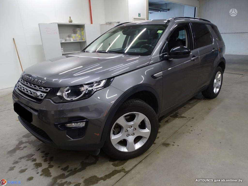 Land Rover Discovery Sport 2.0 TDI I
