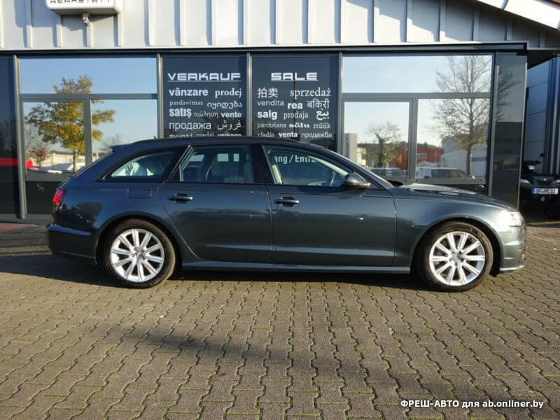 Audi A6 quattro + кожа