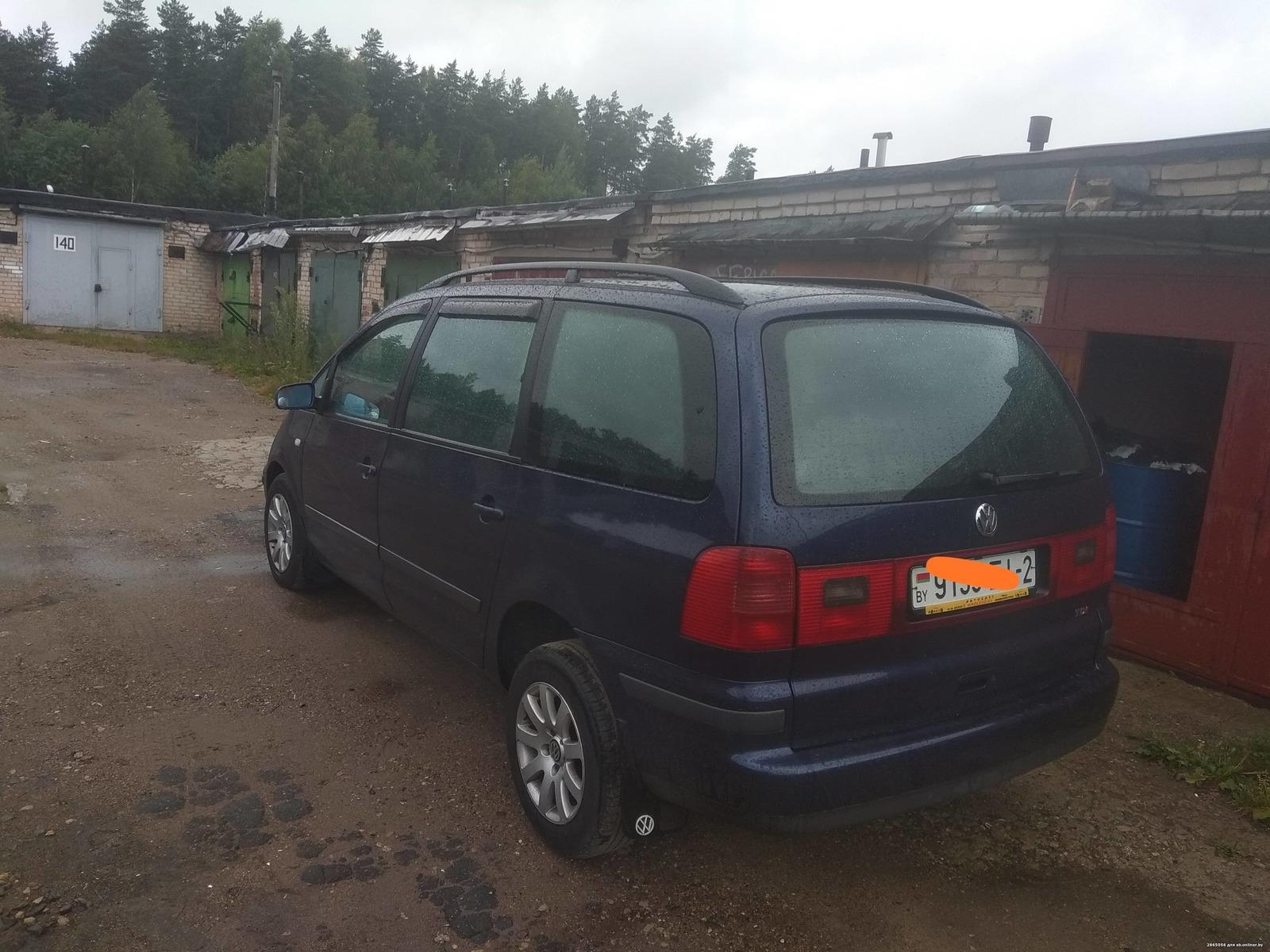 Volkswagen Sharan Рестайлинг 1