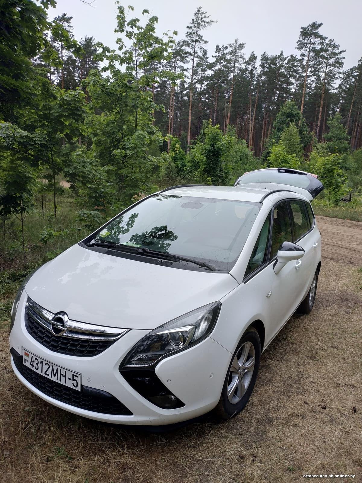 Opel Zafira TOURER 7 MEST