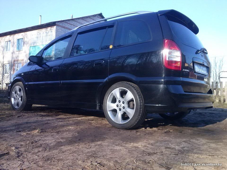 "Opel Zafira RECARO""OPC-line"""