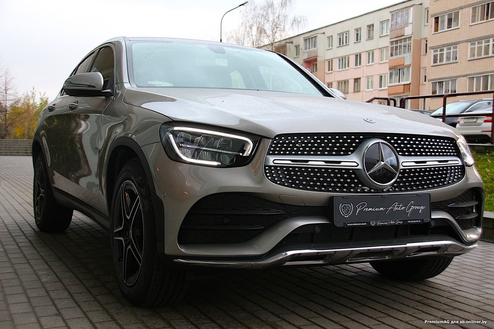 Mercedes-Benz GLC300 AMG Coupe