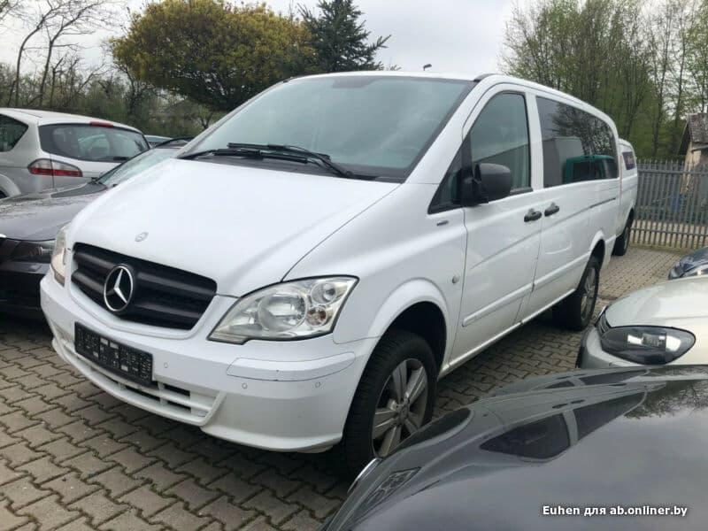 Mercedes-Benz Vito Extralong 4x4
