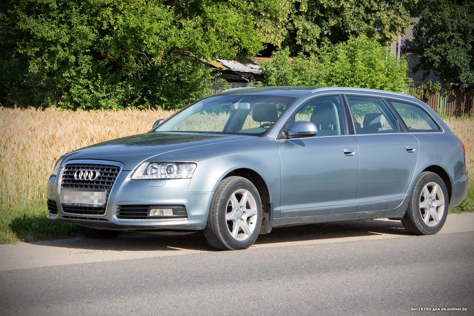 Audi A6 Рестайлинг