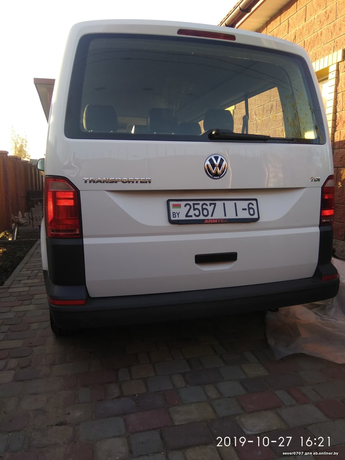 Volkswagen T6 Long 9мест