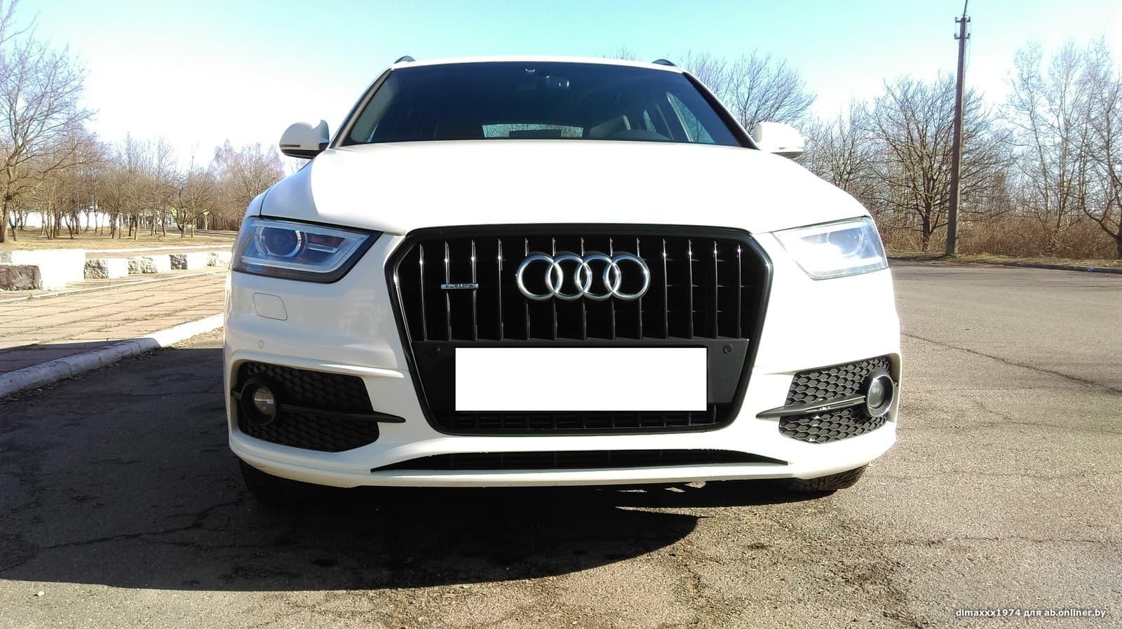 Audi Q3 2.0 tfsi s line quattro