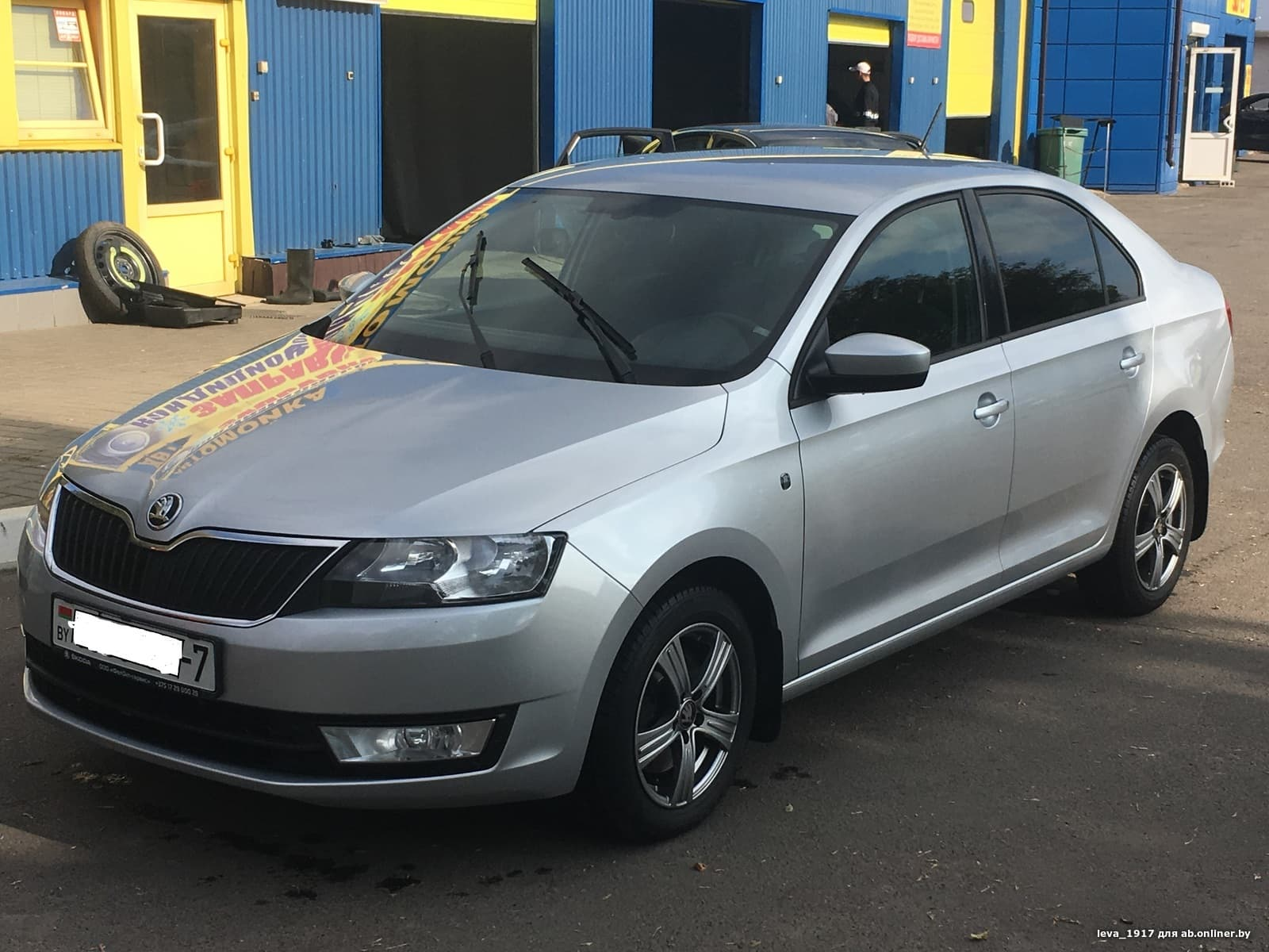 Skoda Rapid Ambition 110 л.с.