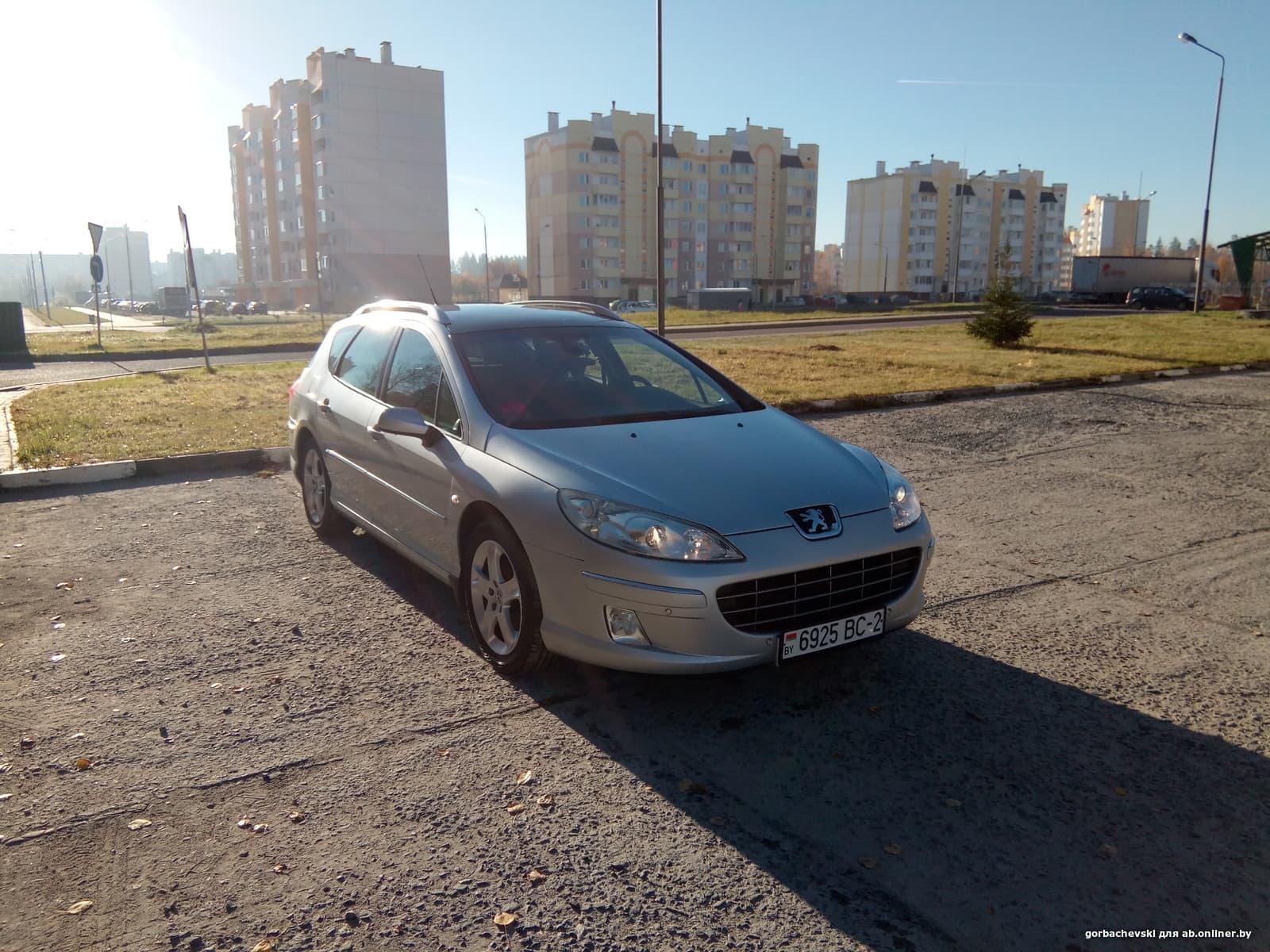 Peugeot 407 SW (рейсталинг)