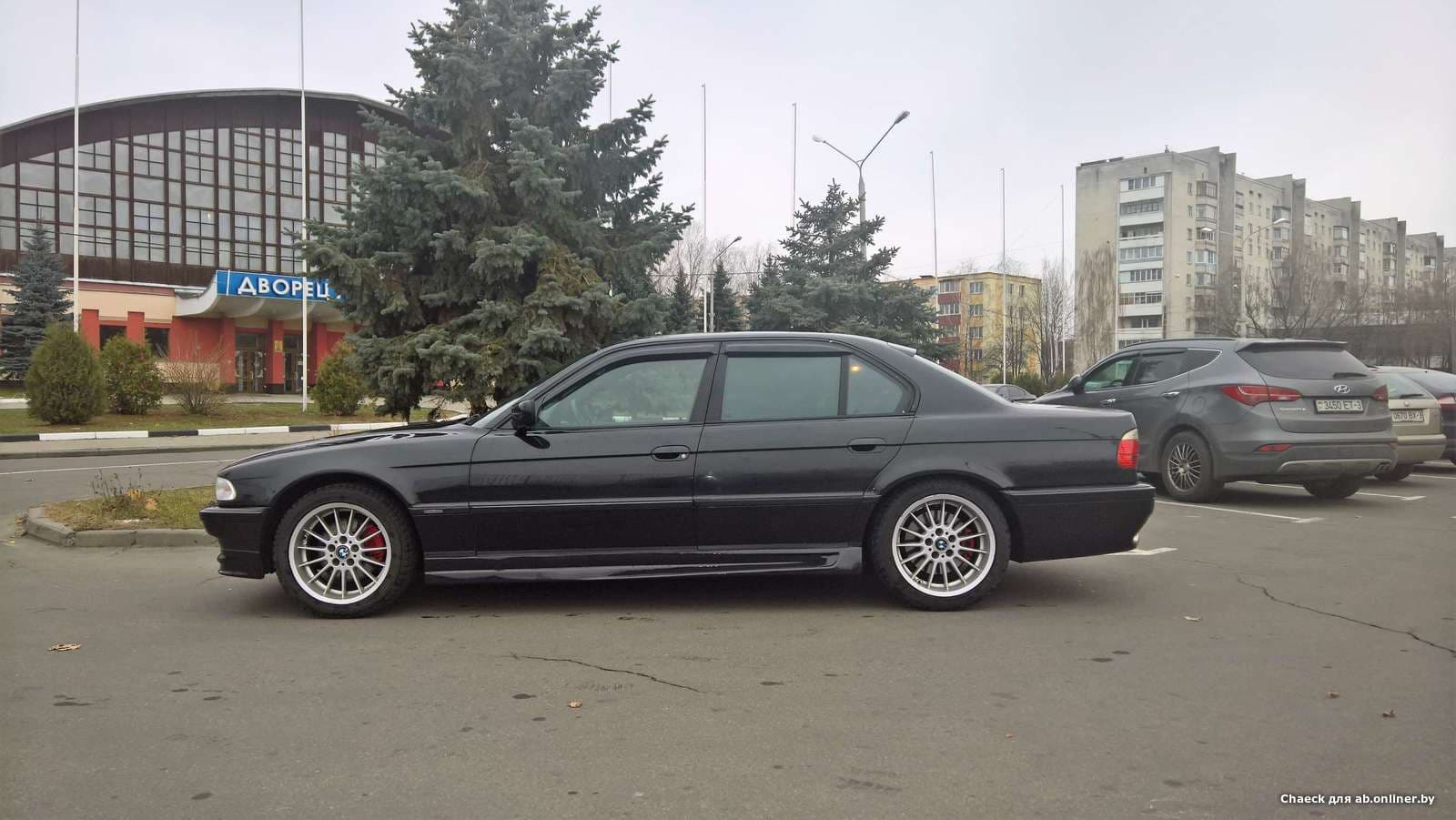 BMW 740 Shadow Line