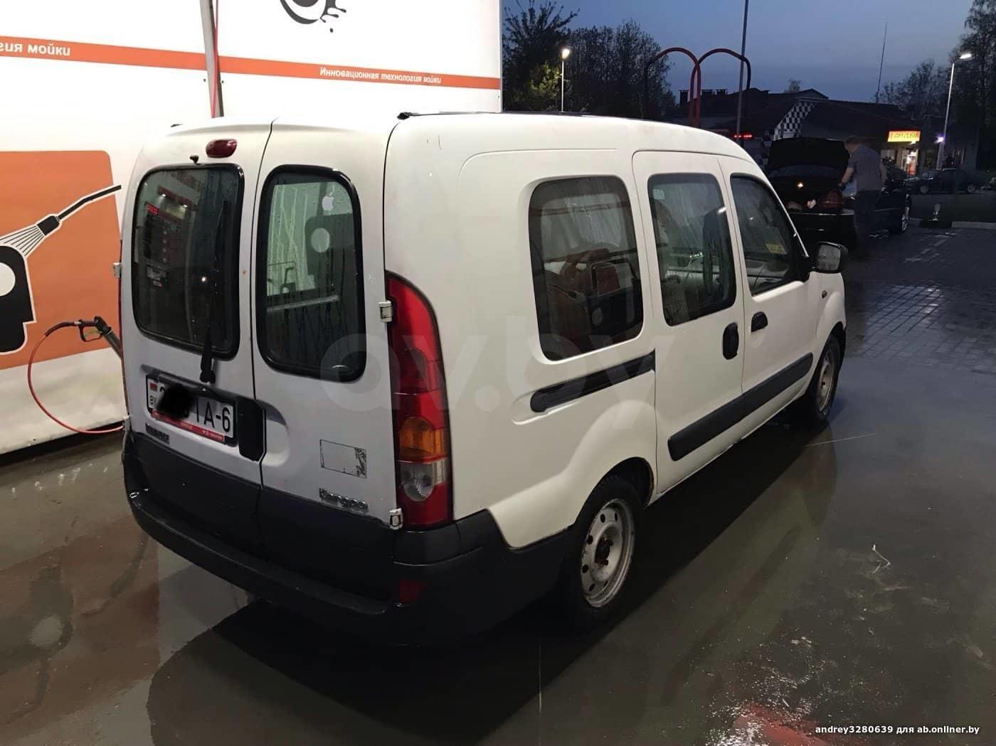 Renault Kangoo maxi база