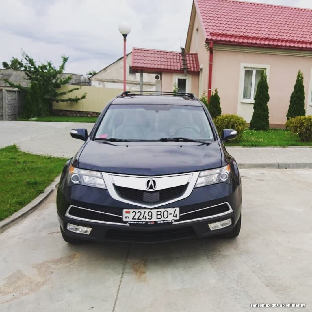 Acura MDX Restyled Entertainment
