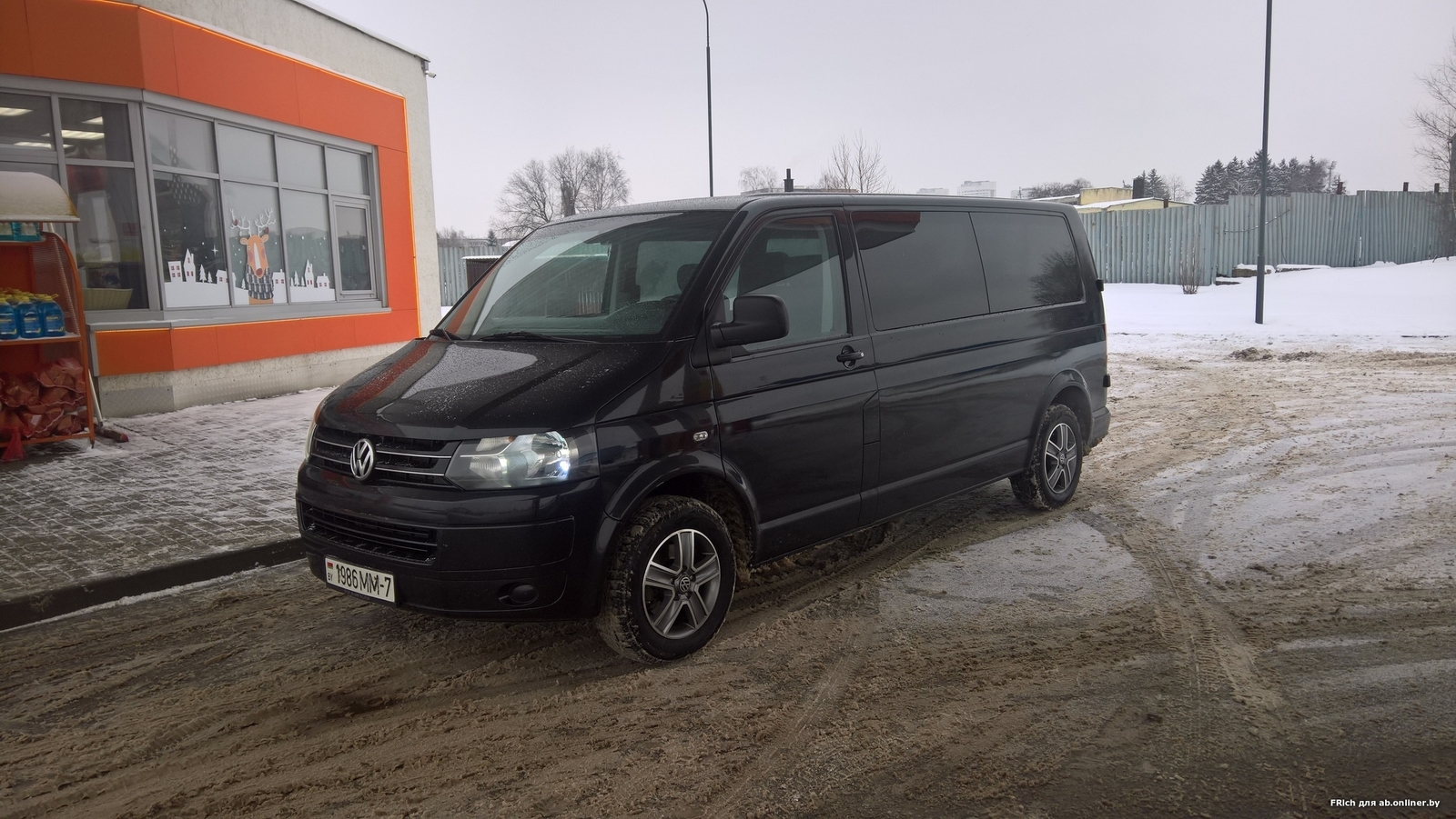 Volkswagen T5 Long 7+1