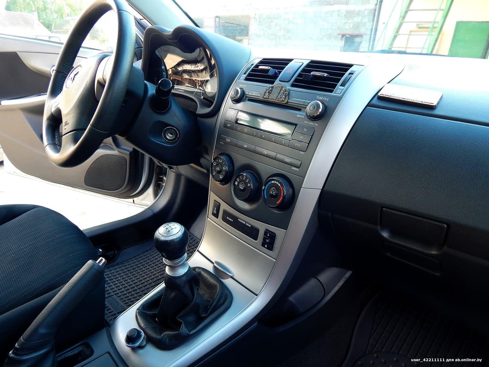 Toyota Corolla comfort