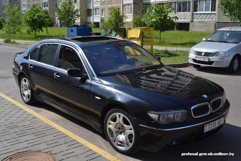 BMW 760 е65/66