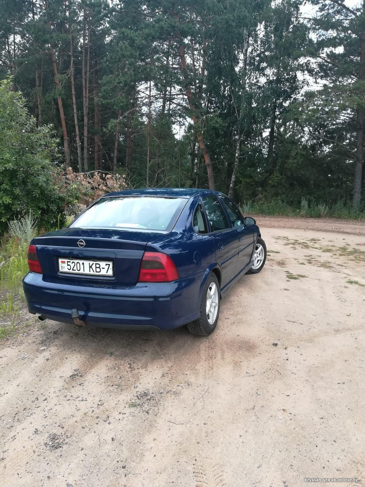 Opel Vectra Рестаил