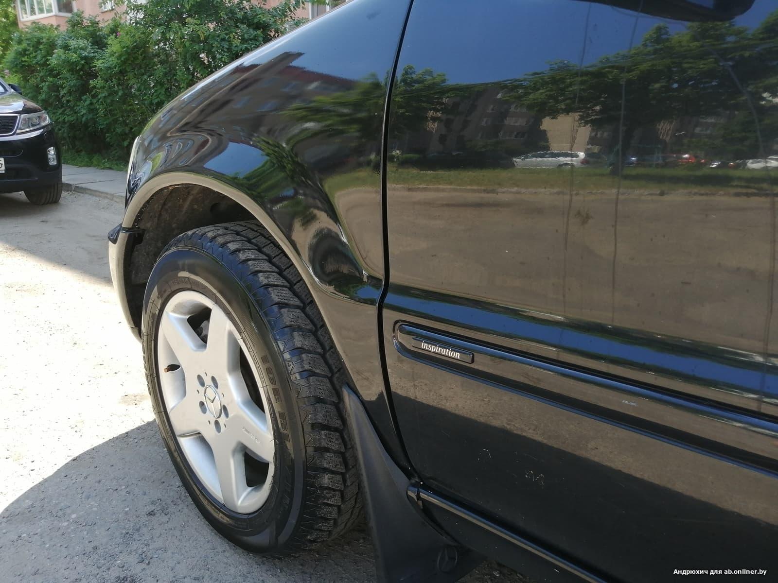 Mercedes-Benz ML400 inspiration