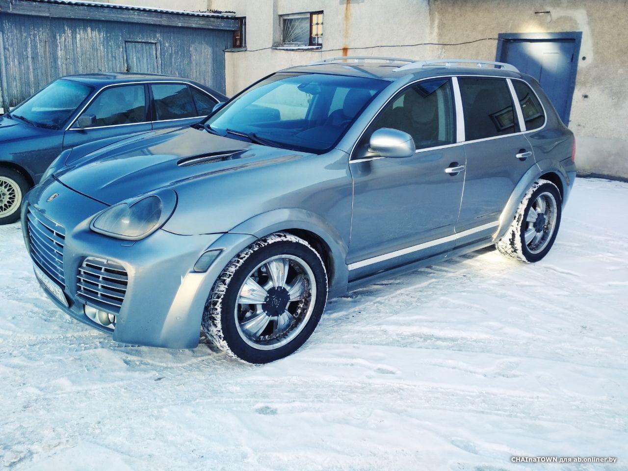 Porsche Cayenne S Magnum