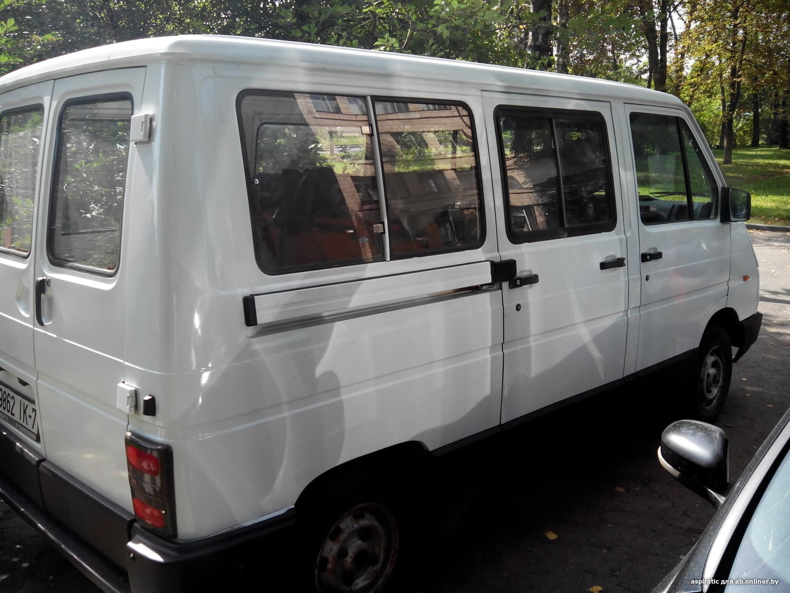 Renault Trafic I (2-й рестайлинг)