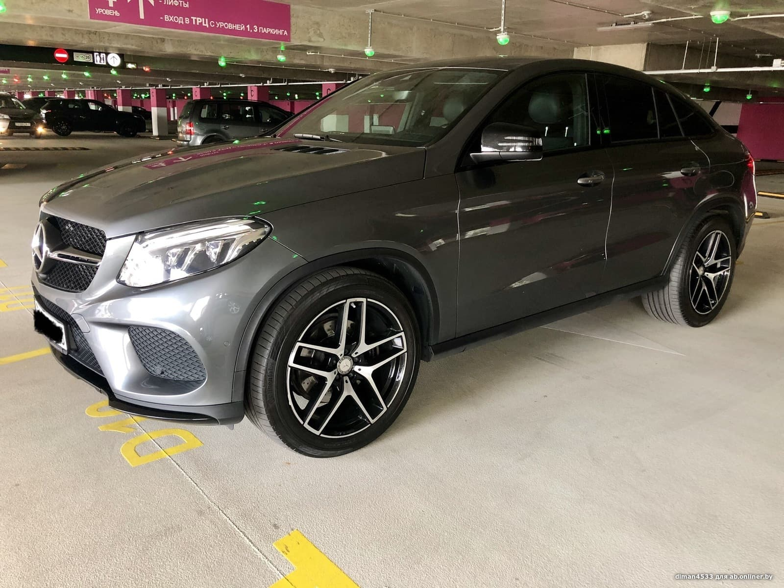 Mercedes-Benz GLE350 Coupe