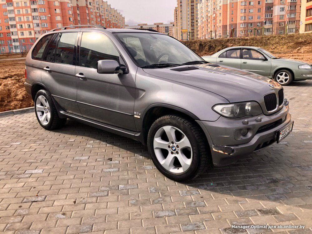 BMW X5 рест