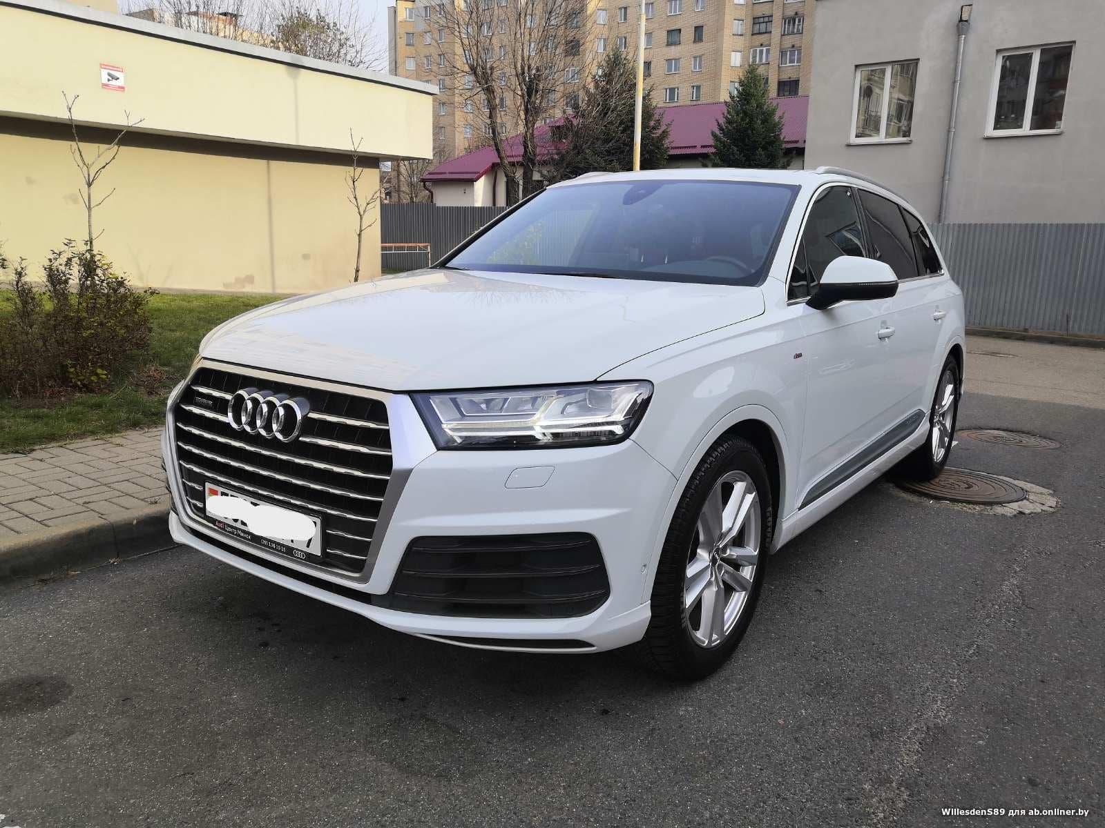Audi Q7 3.0 TFSI S-line