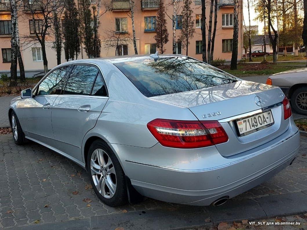 Mercedes E350 W212